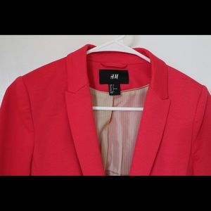 Coral blazer from H&M